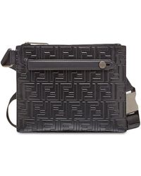 Fendi Logo Belt Bag - Black