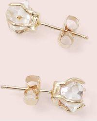 Erica Weiner - Herkimer Diamond Earrings - Lyst