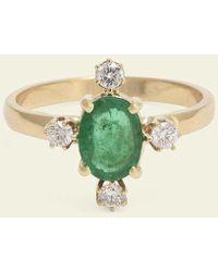 Erica Weiner - Directional Ring (emerald) - Lyst