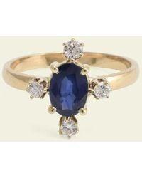 Erica Weiner - Directional Ring (sapphire) - Lyst