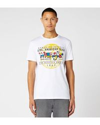 Wrangler Camiseta Globe - Blanco