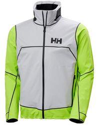 Helly Hansen Chaqueta HP Foil Pro blanco, - Verde