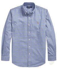 Ralph Lauren - Camisa Camisa Oxford Custom Fit - Lyst