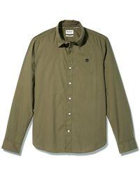 Timberland - Camisa manga larga Eastham River - Lyst