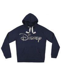 Disney Para niñoSudadera Con Capucha Holografico Cotton Brushed mari - Azul