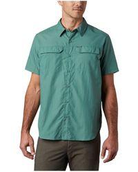 Columbia Camisa Silver Ridge 2.0 Short Sleeve - Verde