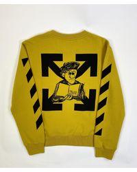 Off-White c/o Virgil Abloh Pencil Arch Arrows Sweatshirt - Multicolour