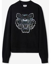 KENZO Gradient Tiger Sweatshirt Black