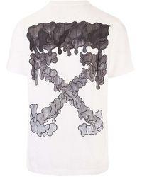 Off-White c/o Virgil Abloh Off- Black Marker Arrows T-shirt - White