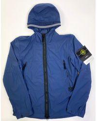 Stone Island 40131 Skin Touch Nylon Tc Jacket - Blue