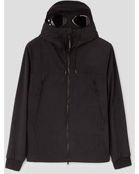 C.P. Company C.p Company C.p Shell R Goggle Jacket - Black