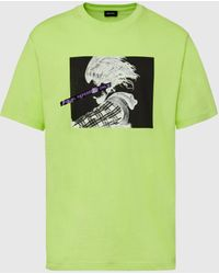 DIESEL Visual Reference T-shirt - Green