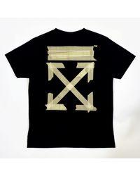 Off-White c/o Virgil Abloh Cargo Tape Arrows T-shirt - Black