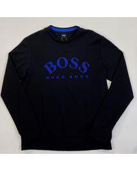 BOSS by HUGO BOSS Salbo Sweatshirt - Blue
