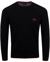 BOSS by HUGO BOSS Riston Jumper Black/red