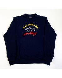 Paul & Shark Logo Sweatshirt - Blue