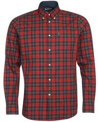 Barbour Tartan 8 Shirt - Red