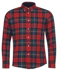Barbour Tartan 9 Shirt - Red