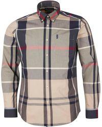 Barbour Tartan 12 Shirt Stone - Multicolour
