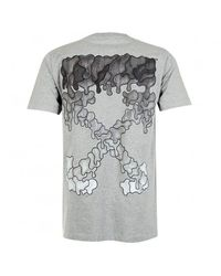 Off-White c/o Virgil Abloh Black Marker Arrows T-shirt - Grey