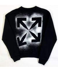 Off-White c/o Virgil Abloh Stencil Arrows Sweatshirt - Multicolour