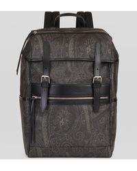 Etro Paisley Jacquard Backpack - Multicolour