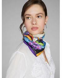 Etro Foulard a fiori - Bianco
