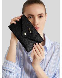 Etro Paisley Print Rsvp Clutch Bag - Black
