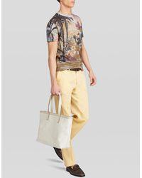 Etro Paisley Tote Bag - White