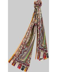 Etro Paisley Scarf - Multicolour
