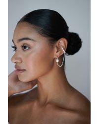 Etsy Mismatched Earrings - Metallic