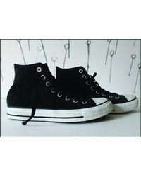 Etsy Vintage Converse Sneakers - Noir