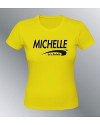 Etsy T-Shirt Personnalisable Brice De Nice Humou - Jaune