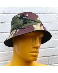 Etsy Camo Bucket Hat - Black
