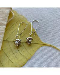 Sterling SIlver /'Dolphin delight/' pendant wKasumi pearl