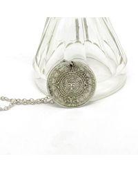Etsy Unique Spanish Silver Necklace - Metallic