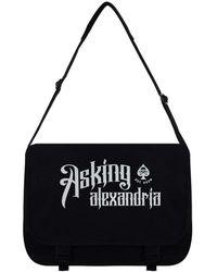 Etsy Asking Alexandria Messenger Bag - Black