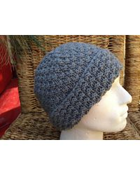 Etsy Cashmere Hat - Grey