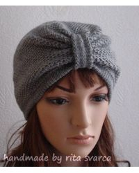 Etsy Turban - Grey