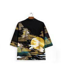 Etsy Japanese Clothing/kimono Kimono Dress Shirt Cardigan /kimono Robe Koi Fish /summer /japanese Gifts - Multicolour
