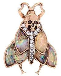 Etsy Beetle Ring - Metallic