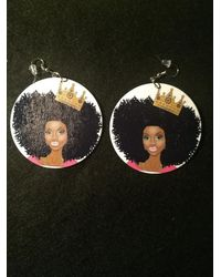 Etsy Afrocentric Queen With Crown - Black