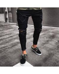 Etsy Jeans Skinny - Noir