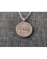 Etsy - Great Sand Dunes Colorado United States Quarter Coin Necklace - Lyst