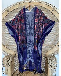 Etsy Kimono Jacket - Blue