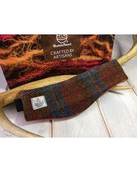 Etsy Harris Tweed Ear Warmers/head Band/hair Band - Multicolour