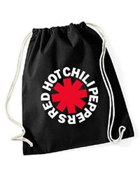 Etsy Red Hot Chili Peppers Gym Bag - Grey