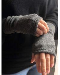 Etsy Cashmere Fingerless Gloves - Brown