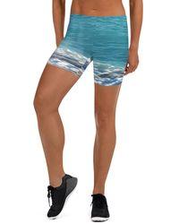 Etsy Beach Short Skay Short - Bleu