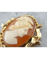 Etsy Lovely Cameo Pendant Or Brooch T7yprx-n - Metallic